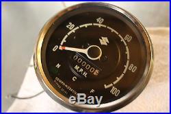 1966 Suzuki S32 S32II S 32 S115 150cc NOS Speedometer Gauge