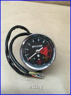 1969 1970 Suzuki Ts250 Ts 250 Tachometer Oem Nos 34200-16700
