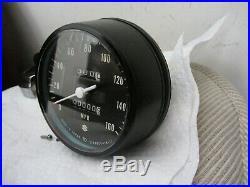 1972 GT750 J Suzuki Water Buffalo Speedometer Gauge NOS Complete, Super Nice