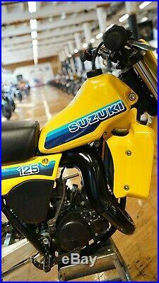 1983 Suzuki RM