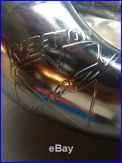 1996 1997 1998 NOS Suzuki RM250 Noleen Nickel Pipe Silencer Combo