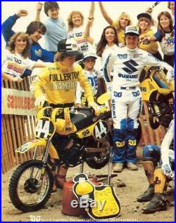 DG jersey, vintage motocross, NOS suzuki, size L, DG racing, DG performance