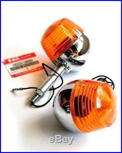 Genuine Suzuki Front Turn Signals x2 NOS oem t500 t350 ts400 ts250 gt250 gt