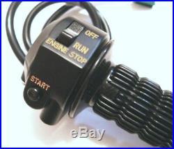 NEW NOS Suzuki gt750 Handlebar Throttle Grip Switch Assembly oem gt 750