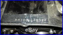 NOS 11300-41831 RM100 Genuine Suzuki Crankcase Set