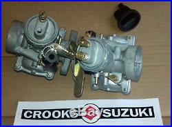 NOS 13201-18110 & 13202-18110 1969 T250 Genuine Suzuki Carburetor