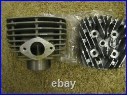 NOS 1970's Suzuki TS185 Hop-Up Cylinder and Head 175cc NEW Hop-Down TS 185 AHRMA