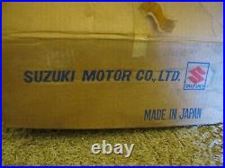 NOS 1975-78 Suzuki RM100 RM125 Exhaust Pipe Muffler NEW Silencer Spark Arrestor