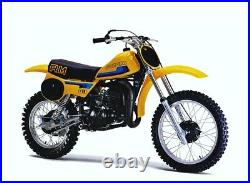 NOS 1980 1981 Suzuki RM-80 New Unused Original Exhaust Muffler # 14330-20300