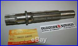 NOS 1981 RM465X Genuine Suzuki Gearbox Assy, 2 Shafts and 9 Gears