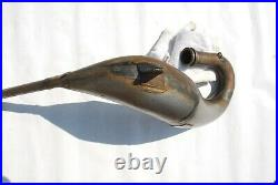 NOS 1987 Suzuki RM125 Pro Circuit Exhaust Pipe RM 125 NEW RM125H