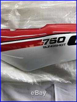 NOS 1988 Suzuki GSXR750 GSXR 750 SLINGSHOT LEFT REAR FARING COWL PLASTIC RARE