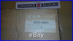 NOS 21200-41301 RM125/RM100 Genuine Suzuki Clutch Housing & Primary Driven Gear