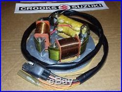NOS 32101-41420 Genuine Suzuki PE250 Magneto Stator Assy