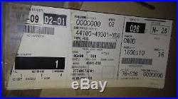 NOS 44100-49301-YD8 Katana GSX1100S / GSX1000S Genuine Suzuki Silver Fuel Tank