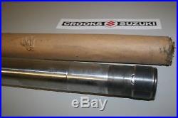 NOS 51110-14100 RM125 RM250 Genuine Suzuki Inner Fork Tube Set