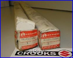 NOS 51110-14280 RM500 Genuine Suzuki 43mm Inner Fork Tube Set