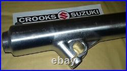 NOS 51131-14200 1981 RM465 X Genuine Suzuki Right Hand Outer Fork Tube