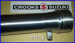 NOS 51141-14200 1981 RM465 X Genuine Suzuki Left Hand Outer Fork Tube