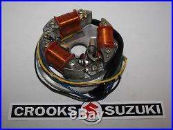 NOS B1003110K2-1 32101-07020 Suzuki B100 B100P B120 Stator Assy