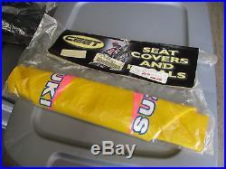 NOS CEET Suzuki Yellow Seat Cover 1989-1992 RM125 RM250 06-1279
