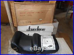 NOS Endura Westerner Black Vinyl Seat Suzuki 1980 GS1100E 2318 29-1860