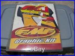 NOS FMF Graphics Kit with Seat Cover 2000 -2001 Suzuki RM80 010801