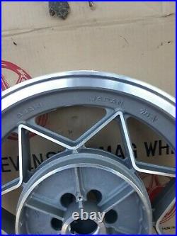 NOS HENRY ABE SEVEN STAR MAG 3.00 x 16 DISC REAR WHEEL RIM GS750 SUZUKI CAFE
