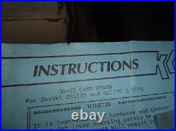 NOS KG Case Savers Crash Bar Engine Guard Suzuki 1980 GS1100 GS1100L CG-75