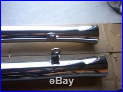 NOS MAC Chrome Flare Tip Exhaust Muffler 1977-1980 Suzuki GS550 GS550E