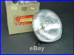 NOS New Suzuki T125 TS125 TS185 TS250 TC90 TC120 TC125 Headlight Light Beam 349
