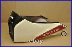 NOS OEM Suzuki 1983 GS750 E ES Front Head Light Upper Cowling Cowl Fairing White