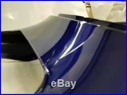NOS OEM Suzuki GSXR750 Frame Cover Assy Tail Piece Blue 47100-30G10-4JX