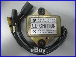 NOS Suzuki CDI Ignition Unit 1972-1975 TM250 TM 250 31900-30120