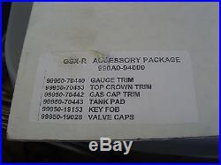 NOS Suzuki Carbon Fiber Accessory Set 1998-2007 GSX-R600 GSX-R750 990A0-94000