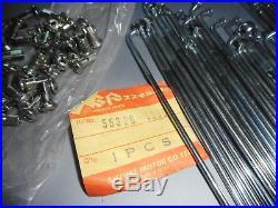 NOS Suzuki GS400 GS425 GS450 T250 T350 T500 OEM Front Spoke Set 55320-15807