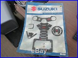 NOS Suzuki GSXR Carbon Fiber Accessory Package 2005 2007 GSXR1000 990A0-94003