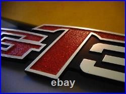 NOS Suzuki GT380 1972-1977 OEM Right Side Cover Emblem Badge Mark 68141-33000