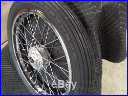 NOS Suzuki GT750 Front Wheel NOS Suzuki GT550 Front Wheel New GT550 750 Wheel