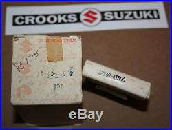 NOS Suzuki PE175 Genuine Suzuki Std. Piston & Ring Set, 12110-41502 & 12140-41500
