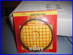 NOS Suzuki PE400 PE 400 1980-1981 OEM 0.25 Oversize Piston Ring 12140-40910-025