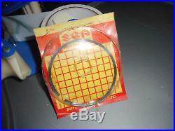 NOS Suzuki RM400 RM 400 1978-1980 OEM. 50mm O/S Piston Ring 12141-41220-050
