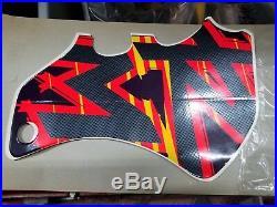 NOS Suzuki Radiator Emblem 1996-2000 RM125 RM250 68661-36E10-G7E