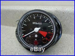 NOS TACH Suzuki T-350 T-250 New Original Tachometer Gauge 1969 1970 1971 1972