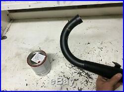 NOS Torque Exhaust Pipe Down Pipe Flat Track Vintage Webco Yamaha Honda Suzuki