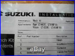 NOS Warn 2.5 CI ATV Winch 2500 lb. Suzuki Eiger LT-A400F 66484