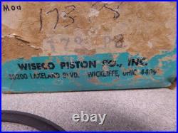 NOS Wiseco 8th O/S 84mm Piston & Rings Suzuki TM400 Cyclone 173P8