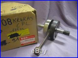 Nos 1989 1991 Suzuki Rm125 Rm 125 L M Crankshaft Crank Shaft MX Twinshock GB