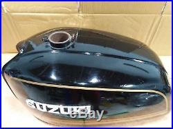 Nos Genuine Suzuki Gt380 Gas Tank Fuel Tank Emblem Original Japan