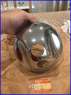 Nos Gt185 Gt250 Gt380 Gt500 Rv125 Ts185 Ts250 Ts400 T500 Mint Chrome Hlight Bowl